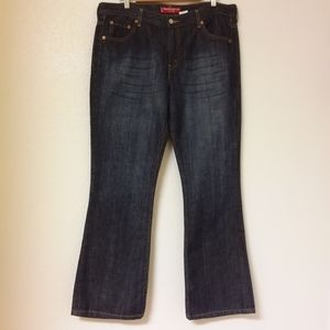 Levi 515  Nouveau Boot Cut Jeans 100% Cotton Sz 16